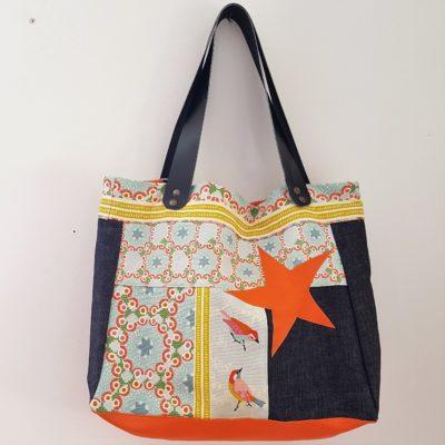 sac étoile bird-orange