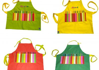 Tabliers crayons