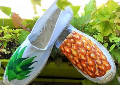 Espadrilles ananas