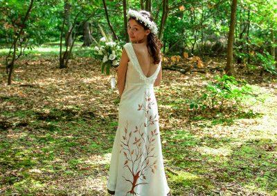 Robe de mariée - dos
