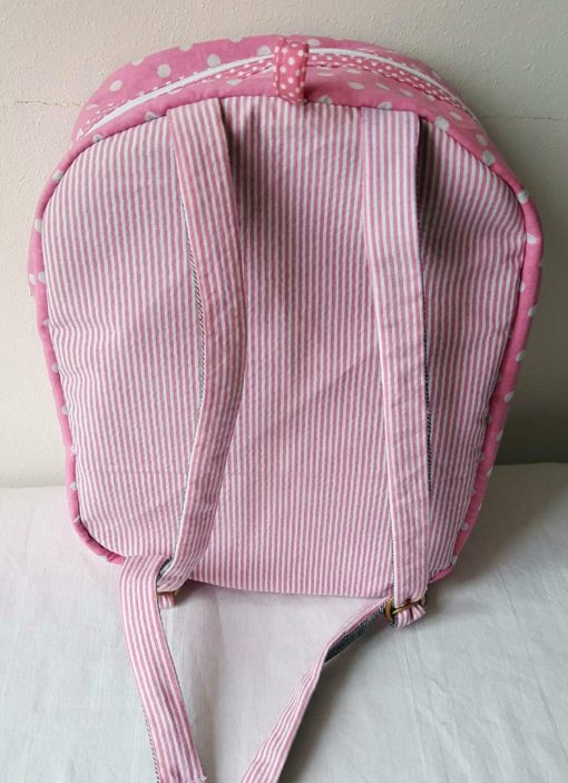 sac à dos rose licorne origami