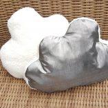 coussin nuage argent gris loudenella