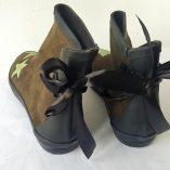 boots kaki étoiles