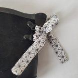 boots noires étoiles origami 3