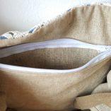 sac jean crochet anses cuir détail 5