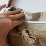 sac jean crochet anses cuir détail 6