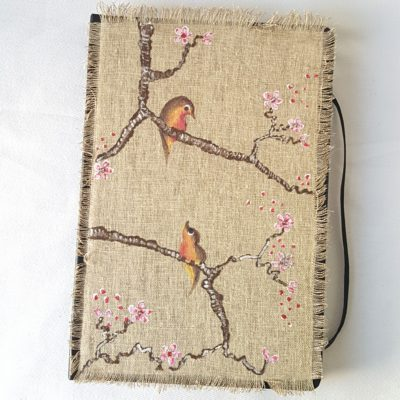 agenda 2018 birds-fleurs de cerisier 2