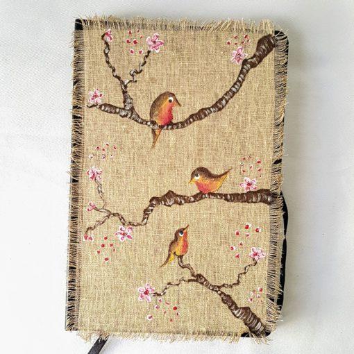 agenda 2018 birds-fleurs de cerisier modèle 1 - VENDU