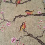 agenda 2018 birds-fleurs de cerisier modèle 1 détail