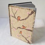 agenda 2018 birds fleurs de cerisier modèle 1 posé