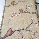 agenda 2018 birds-fleurs de cerisier modèle 3 détail