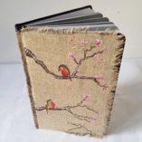 agenda 2018 birds-fleurs de cerisier posé modèle 4