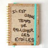 agenda de sac turquoise 4