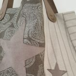 sac étoile taupe lin 1