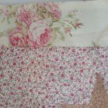 écharpe patchwork étoile vieil or b