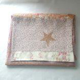 écharpe patchwork étoile vieil or y