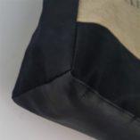 sac france la poste détail cuir