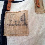 sac la poste lin coton noir 5