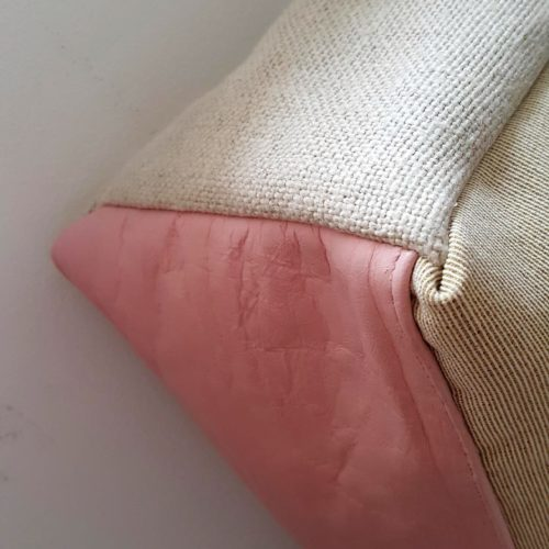 sac flamant rose lin