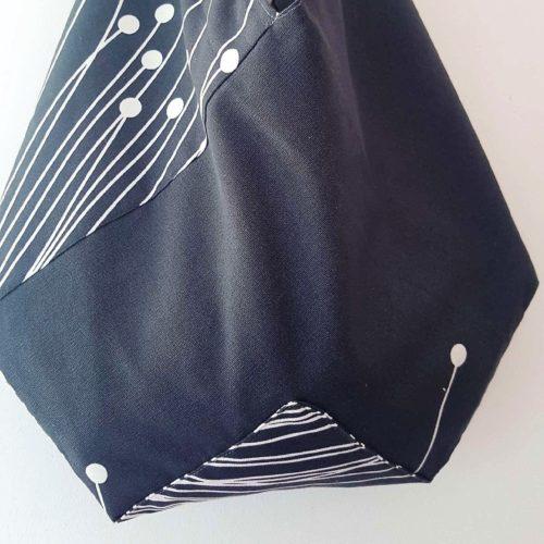 sac origami fleurs de pissenlit