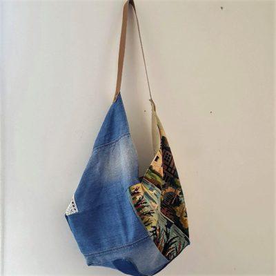 sac origami canevas
