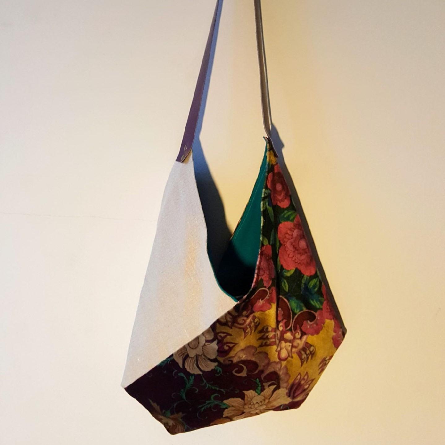 sac origami loudenella Osborne and Little bleu