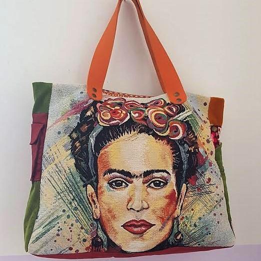 Sac Frida Kahlo La Bohême Loudenella