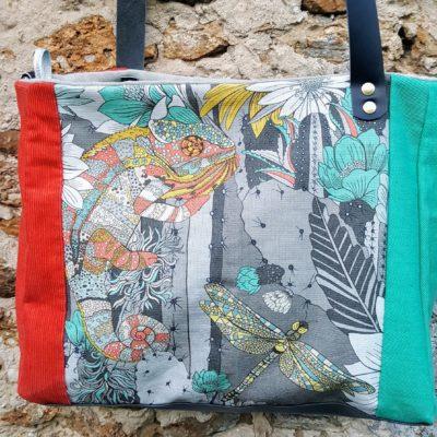 Grand sac cabas zippé GEIKO 5