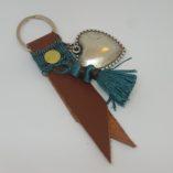 porte clef marron