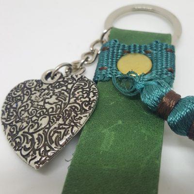 porte clef vert