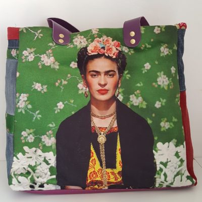 sac frida kahlo green