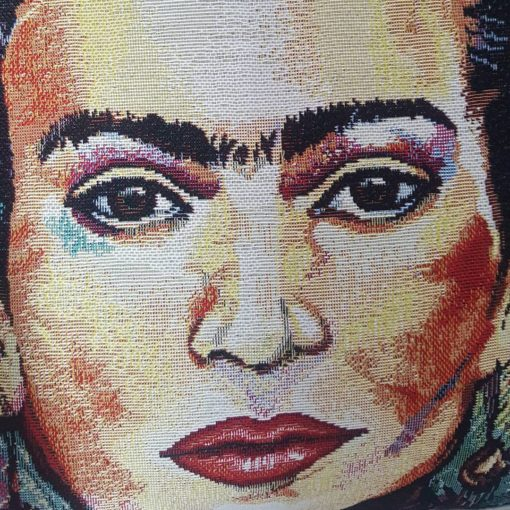 frida kahlo et velours Flamant
