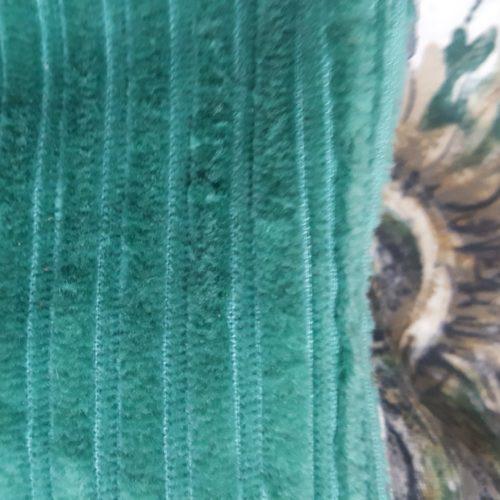 sac grand ORIGAMI réversible et sa pochette velours coton vintage