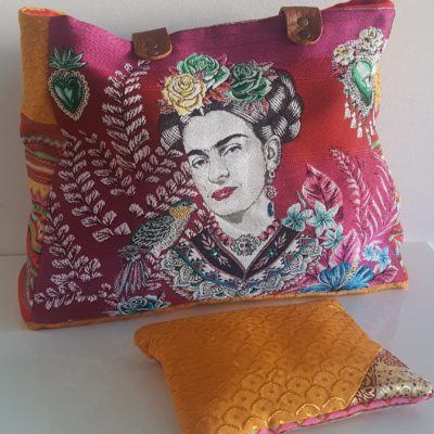 FRIDA KAHLO HYPE rouge et or