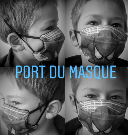 PORT DU MASQUE BARRIERE