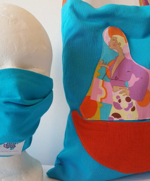 TOTE BAG + MASQUE BARRIERE