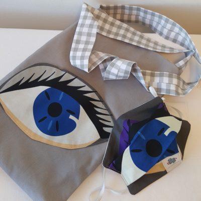 Bag + Masque Loudenella pour Les Enchanteuses