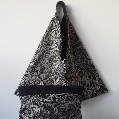 Origami réversible noir
