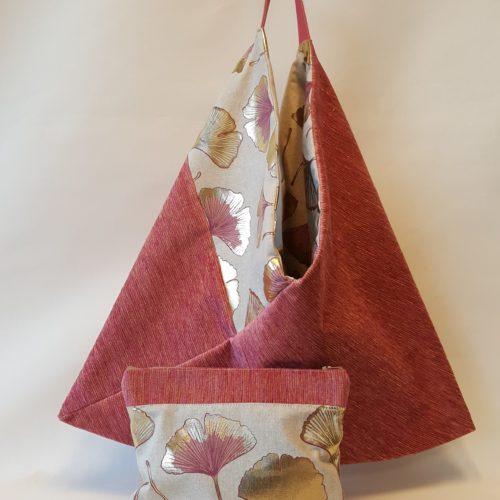 Sac origami reversible
