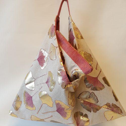 Sac origami réversible