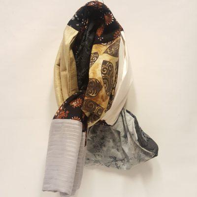 écharpe soie sauvage