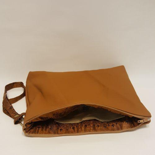 sac avec dragonne cuir