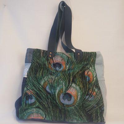 sac plumes de paon