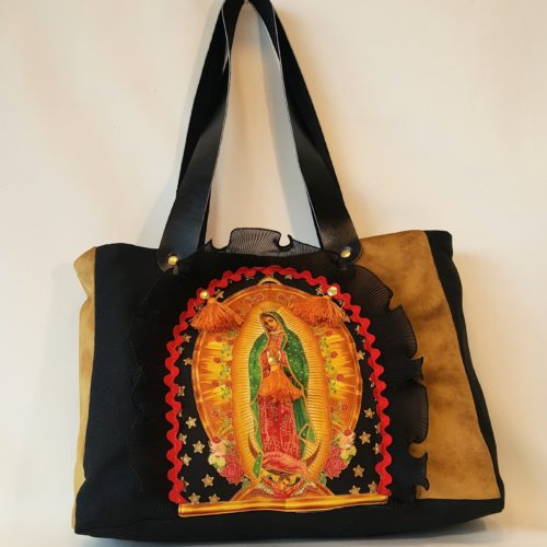 sac boho spirit vierge marie